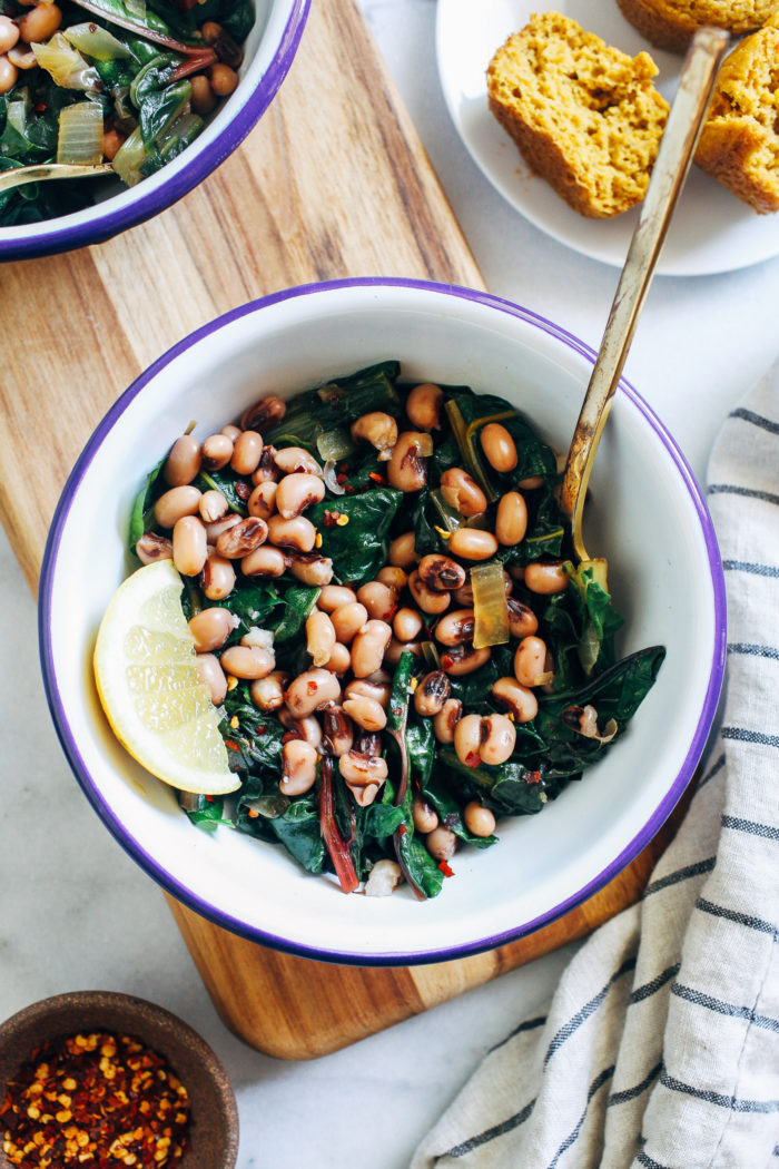 All you need is 20 minutes to make this nutrient packed, plant-based meal that's thought to bring good luck in the new year!