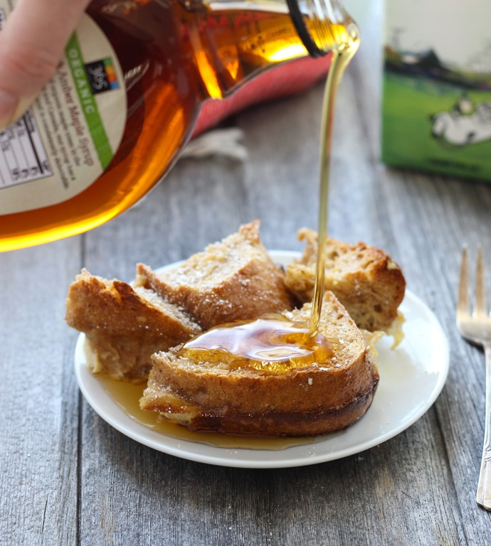 Overnight Eggnog French Toast Casserole- just 15 minutes to prepare ...