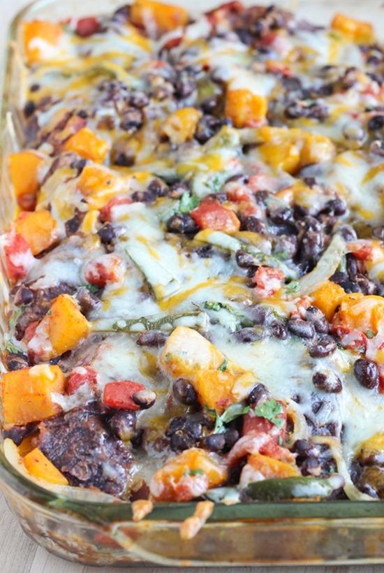 Roasted-Butternut-Squash-Enchilada-Casserole