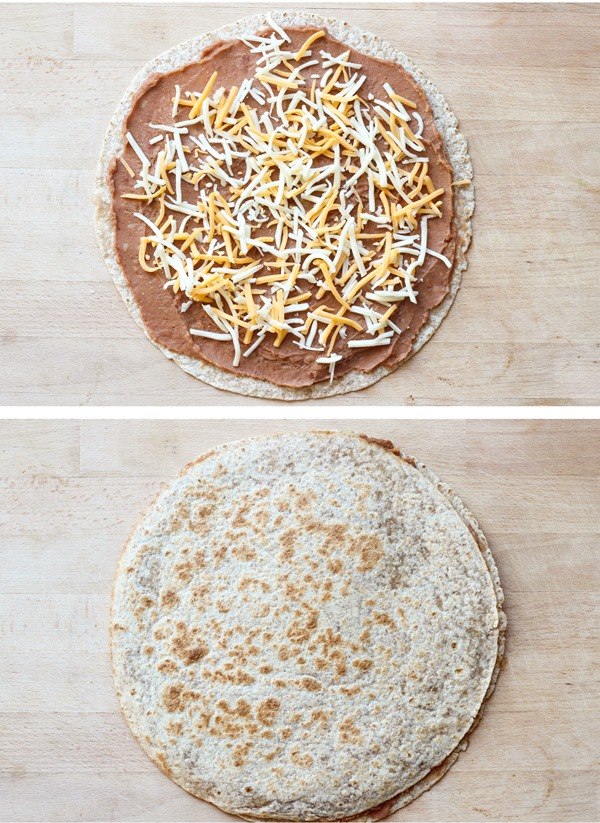 4 Ingredient Quesadillas