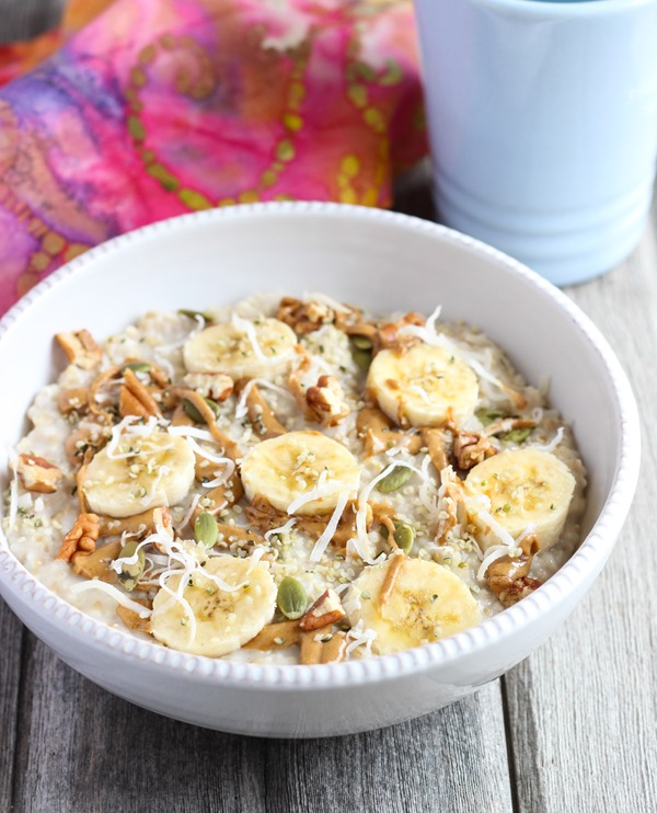 5 Minute Overnight Steel Cut Oatmeal