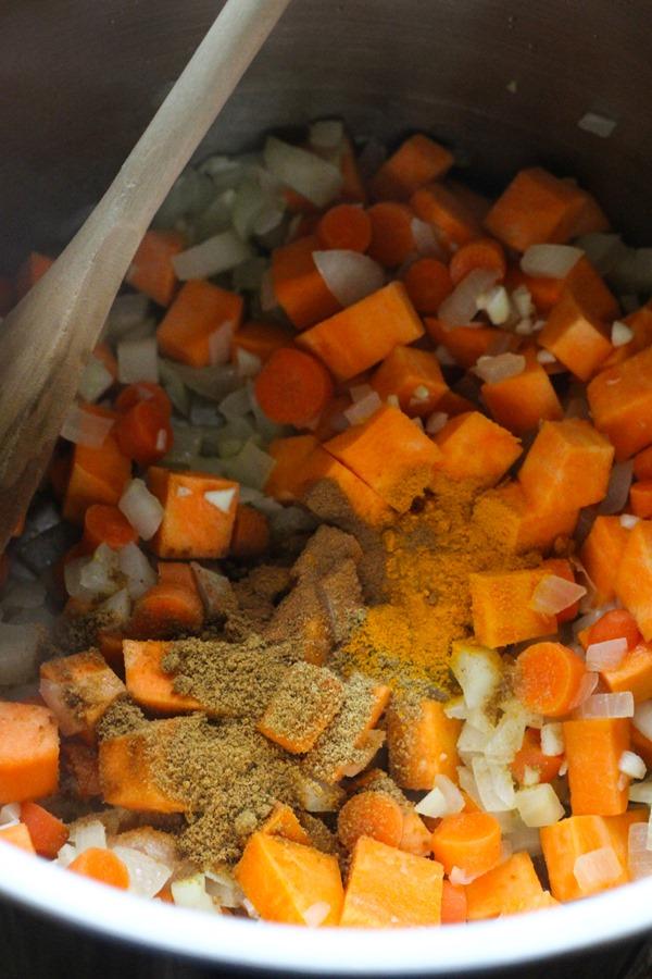 Healing Moroccan Lentil Soup 011