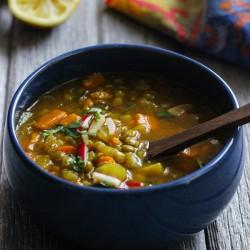 Healing Moroccan Lentil Soup