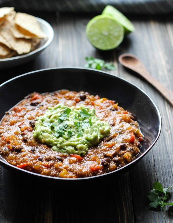 One Pot Mexican Ranchero Amaranth Stew #plantprotein #cleaneating #vegan #glutenfree