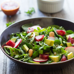Arugula Orange and Avocado Salad 102