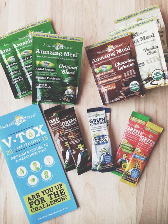Amazing Grass V-tox Challenge