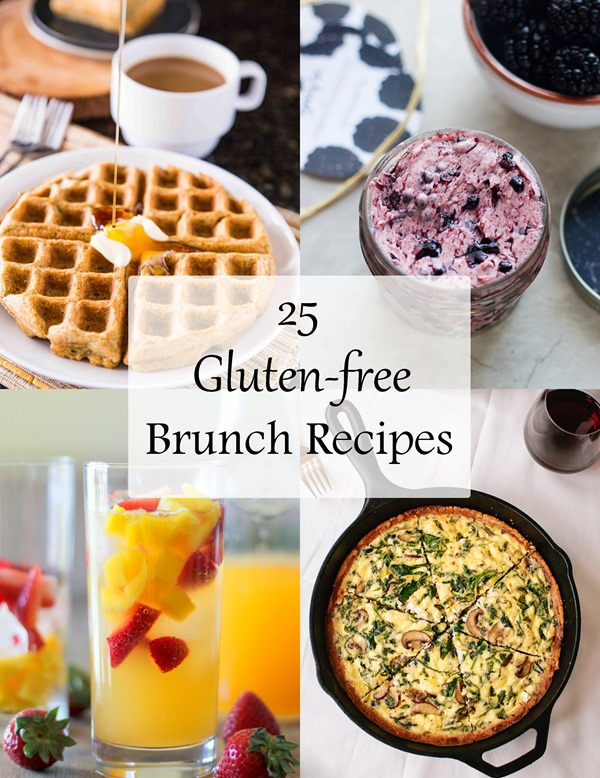 A collection of some of the best gluten-free brunch recipes from around the web!