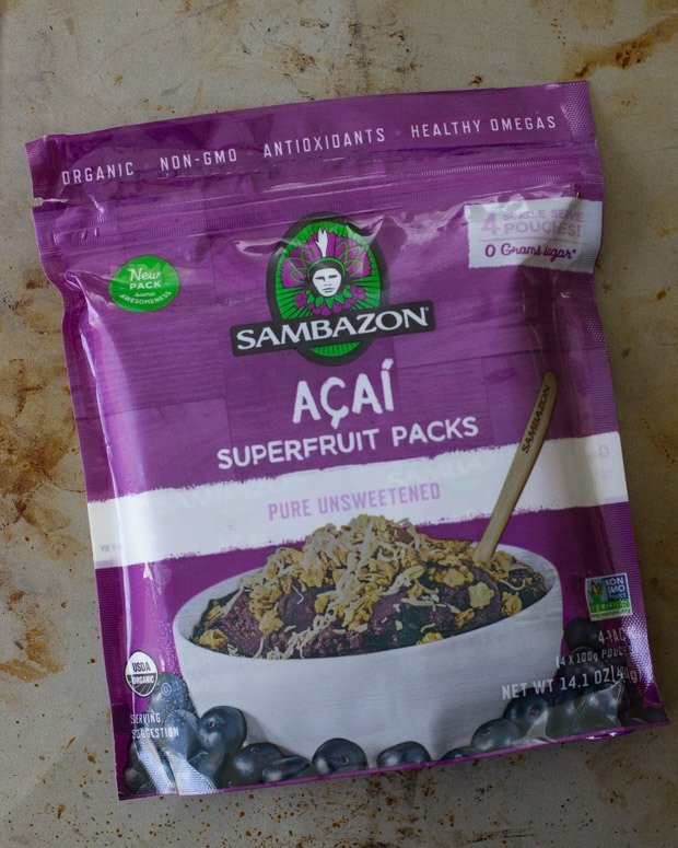 Superfruit Acai Bowls- so refreshing and loaded with skin-glowing antioxidants!
