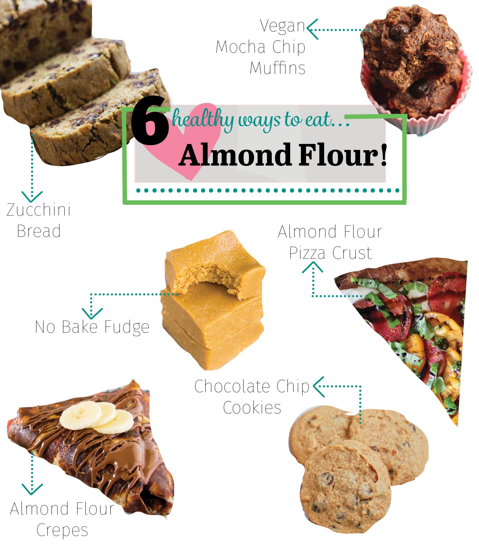 6 Healthy Ways to Eat Almond Flour #glutenfree #palep