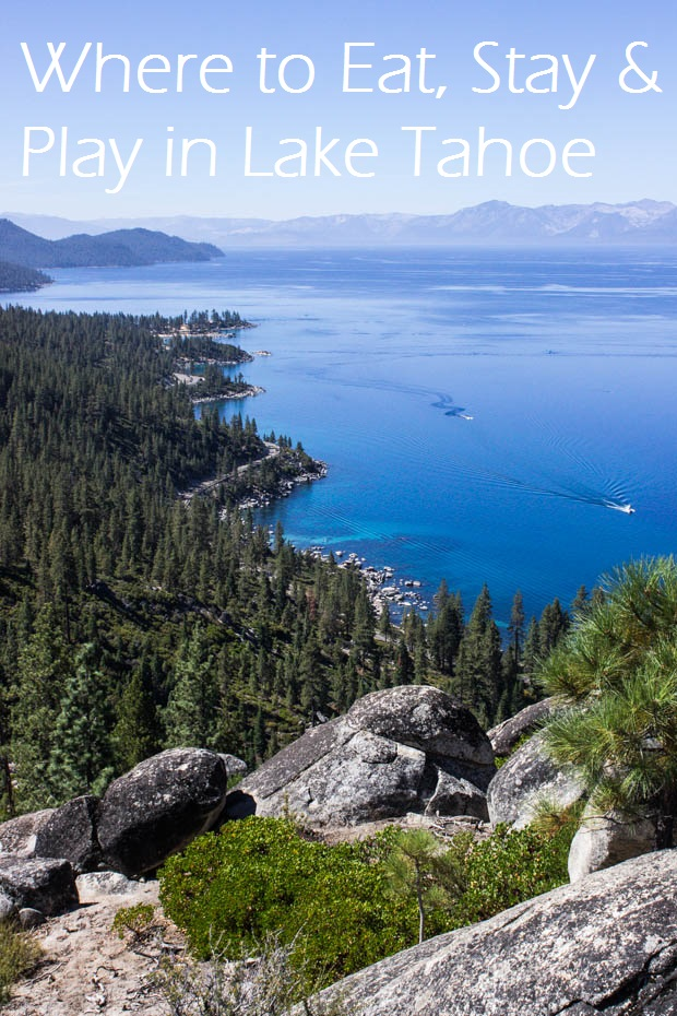 The Best Place to Eat, Stay & Play in Lake Tahoe! #travel