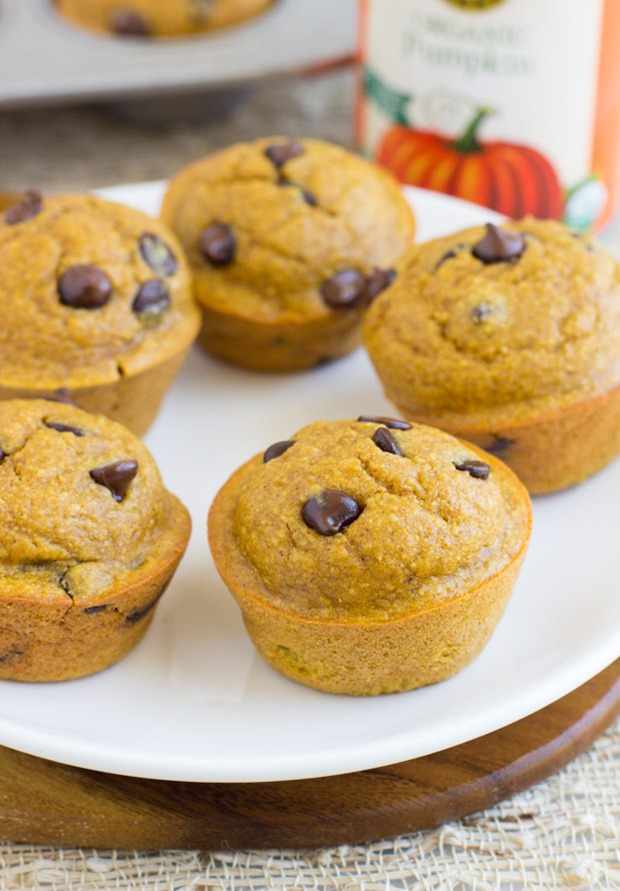 Healthy Flourless Pumpkin Muffins Are Moist Delicious And Super Easy To Make Naturally