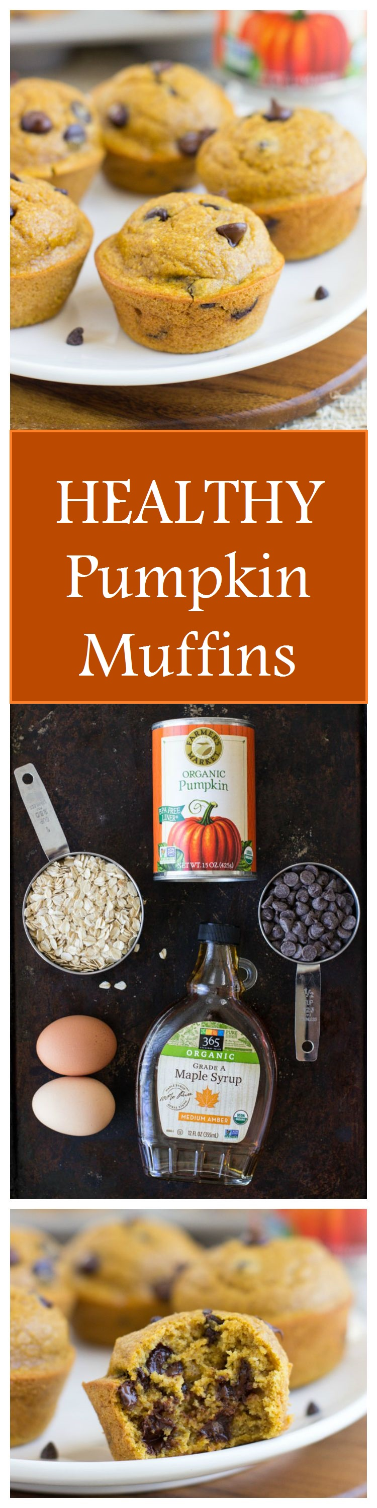 Healthy Flourless Pumpkin Muffins- made with wholesome ingredients! #dairyfree #glutenfree #refinedsugarfree