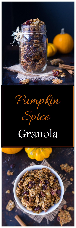 Pumpkin Spice Granola 001