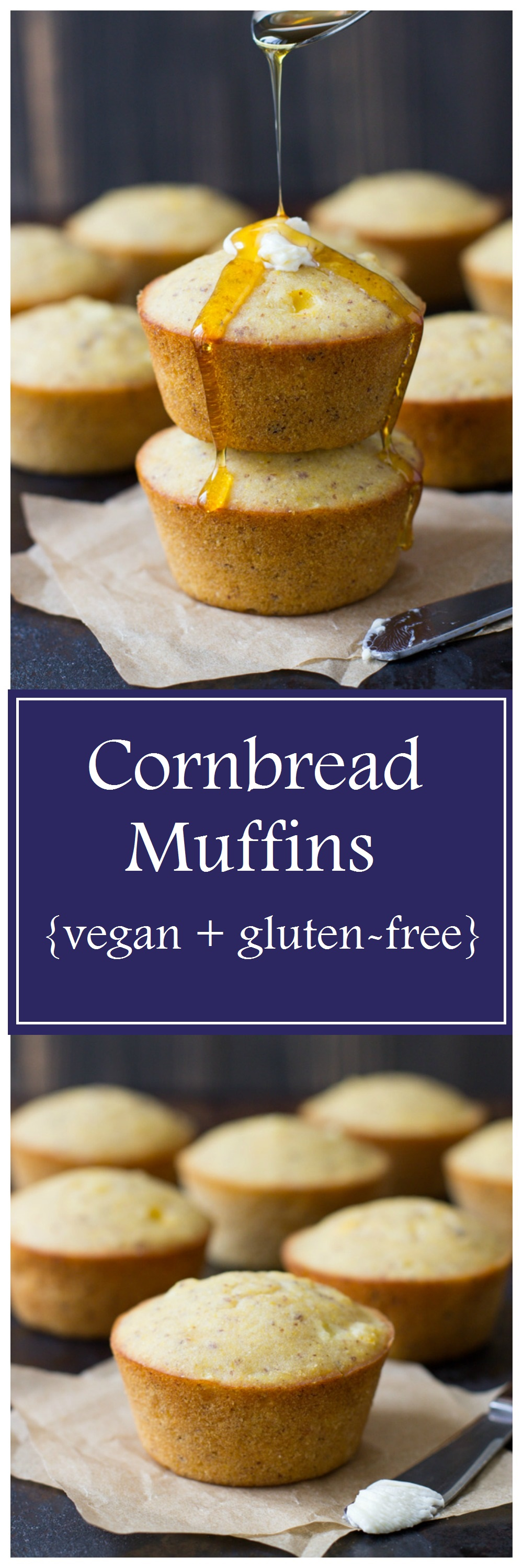 Vegan and Gluten-free Cornbread Muffins - Making Thyme for ...