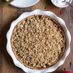 Not Your Grandma's Apple Crumb Pie