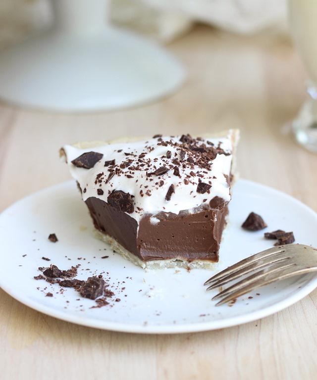 Vegan Silk Chocolate Pie