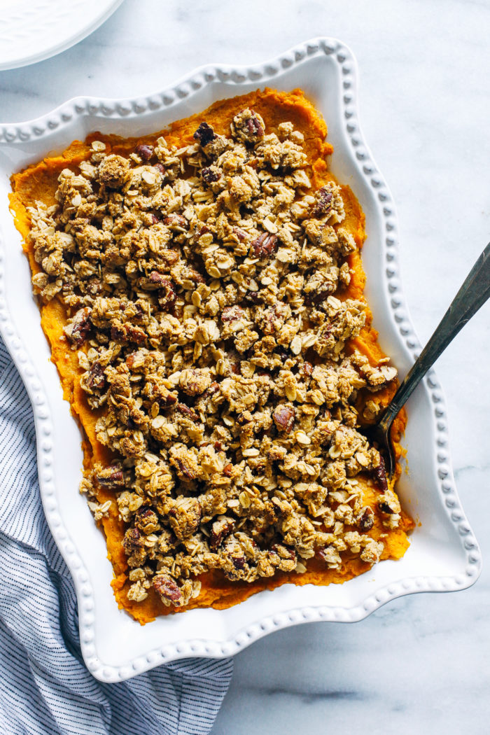Butternut Squash and Sweet Potato Casserole