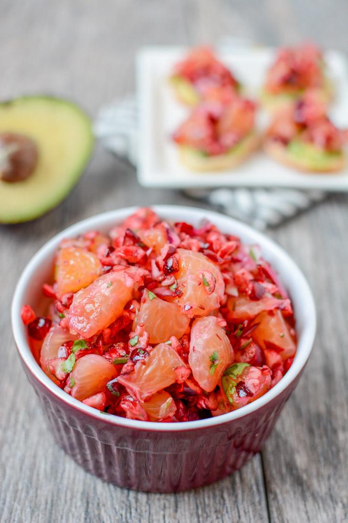 Cranberry Clementine Salsa 6