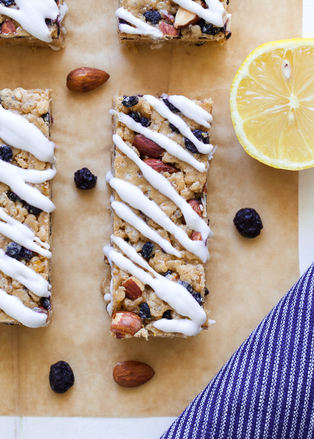 Blueberry Lemon Snack Bars 5