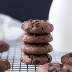 Double Chocolate Peanut Cookies 2