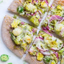 Lemon Brussel Sprout Pizza  2