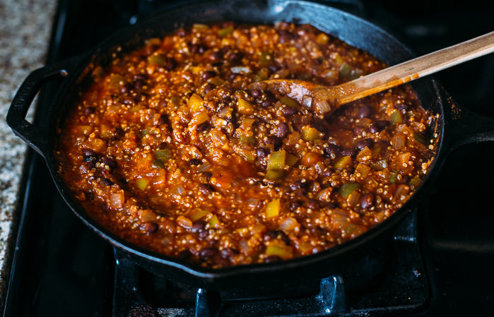 One Skillet Mexican Quinoa