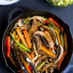 Portabella Mushroom Fajitas 44