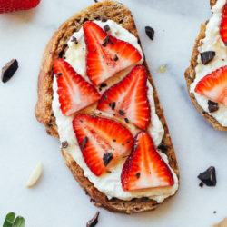 Strawberry Almond Ricotta Toast 22