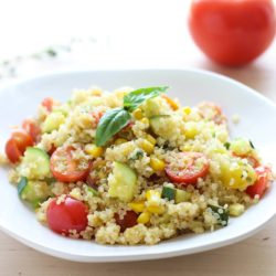 Summer Vegetable Skillet Quinoa