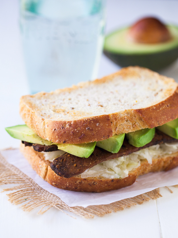 Tempeh, Avocado and Sauerkraut Sandwich 21 _