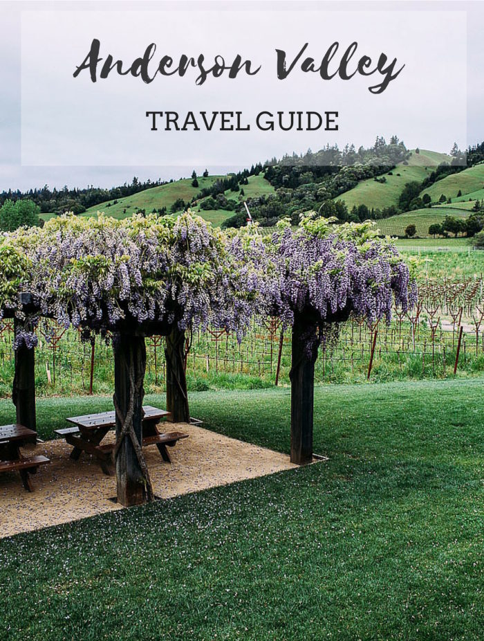 A travel guide for Anderson Valley in Northern California's wine country. Located just 3 hours north of San Francisco.