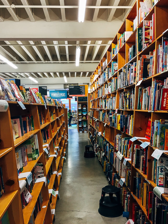 Powell's Books |Where to Eat, Stay and Play in Portland, Oregon | travel guide