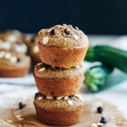 Healthy Flourless Zucchini Muffins 400