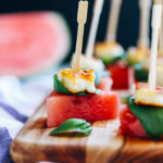 Watermelon Halloumi Bites  _
