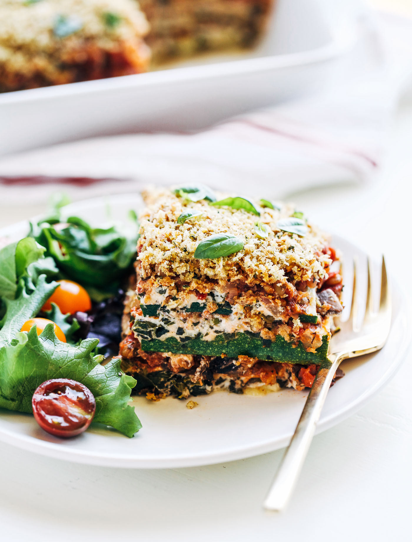 Zucchini Lasagna- a light and healthy take on classic Italian lasagna ...