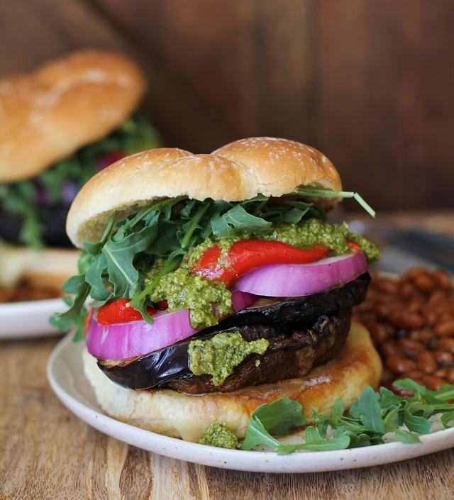 The Ultimate Grilled Portobello Burger from The Roasted Root