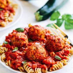 Vegan Zucchini %22Meatballs%22  5