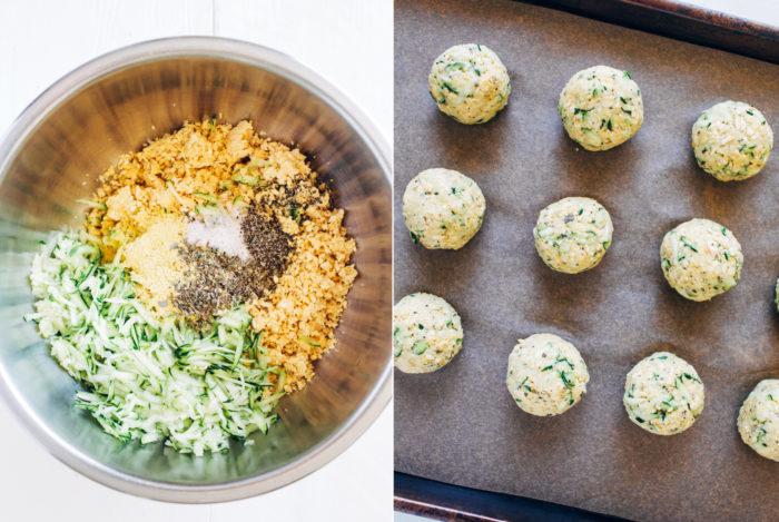 Vegan zucchini meatballs making thyme for health vegan zucchini meatballs forumfinder Image collections