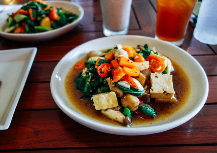 Anchan Vegetarian Chiang Mai_