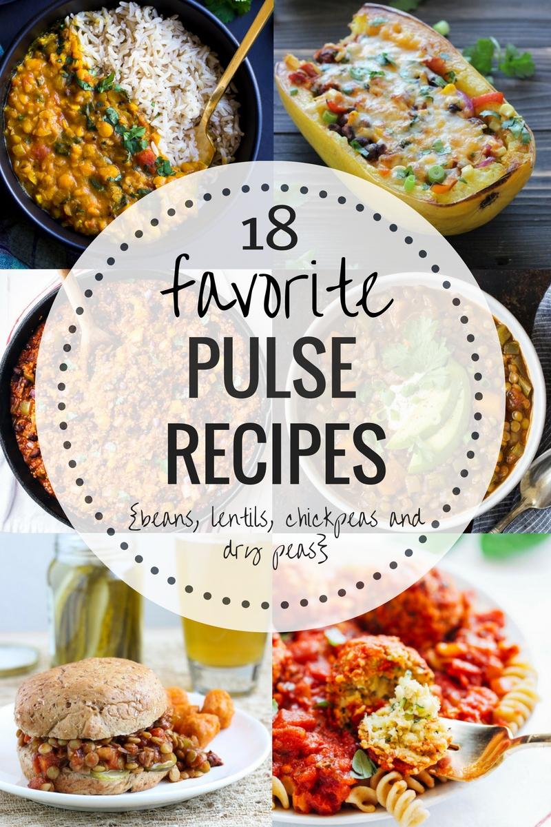 18 Favorite Recipes Featuring Pulses {Beans, Lentils