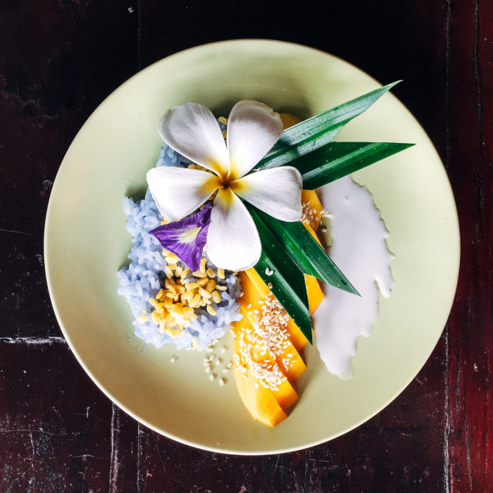 Thai Farm Cooking School Mango Sticky Rice