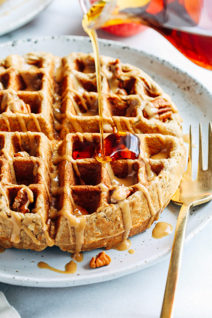 Gluten-free Lunch Waffles With Apples And Prosciutto Recipe ...