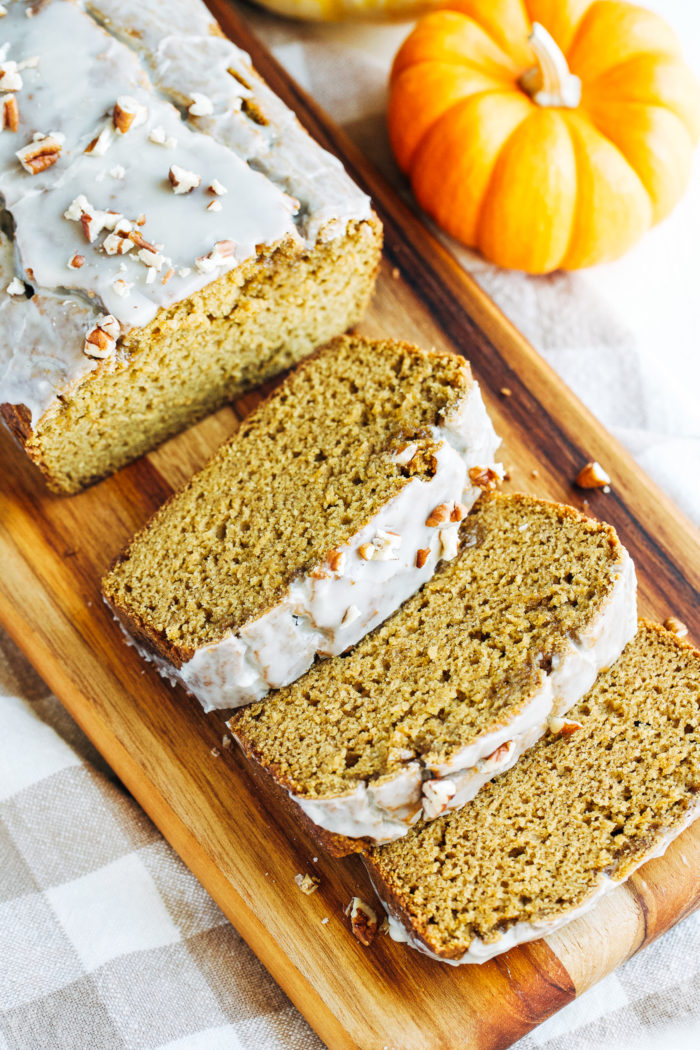 Healthy Pumpkin Bread- so good you would never guess it's gluten-free, dairy-free and refined sugar-free!!