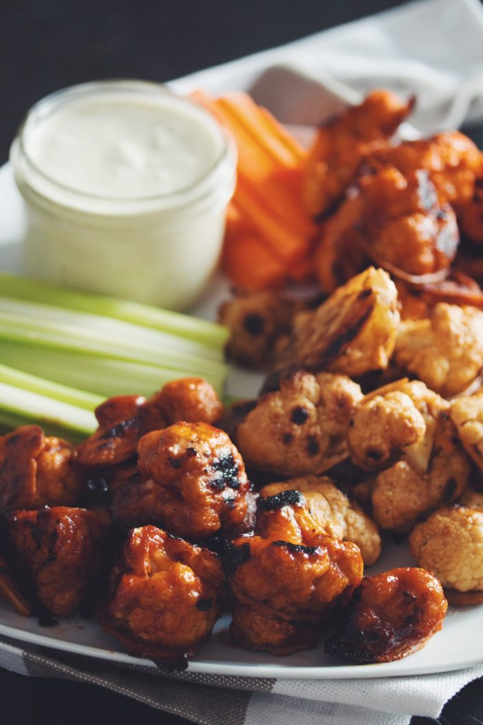 Cauliflower Buffalo Wings from Hot For Food | January Favorites