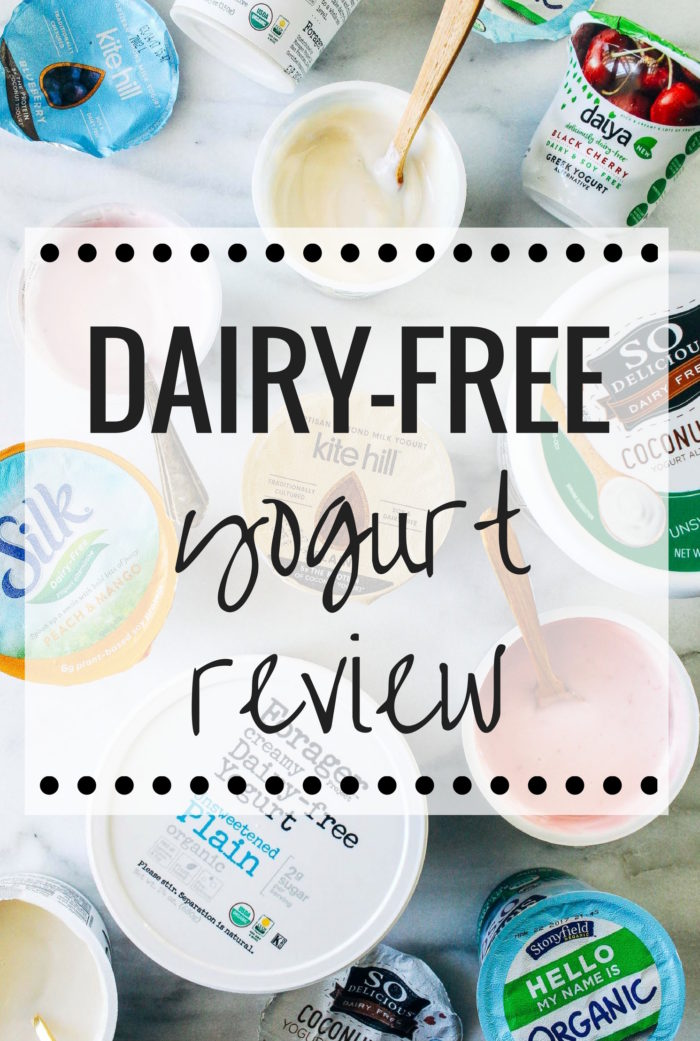 Which Dairy-free Yogurt is the best? Check out this detailed comparison including ingredients, nutrition facts, price and an evolution of flavor and texture. (plant-based, vegan)