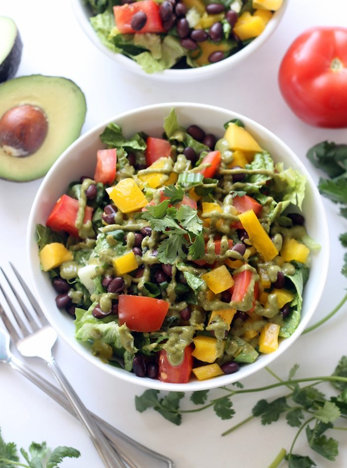 Mexican Chopped Salad from Hummusapien