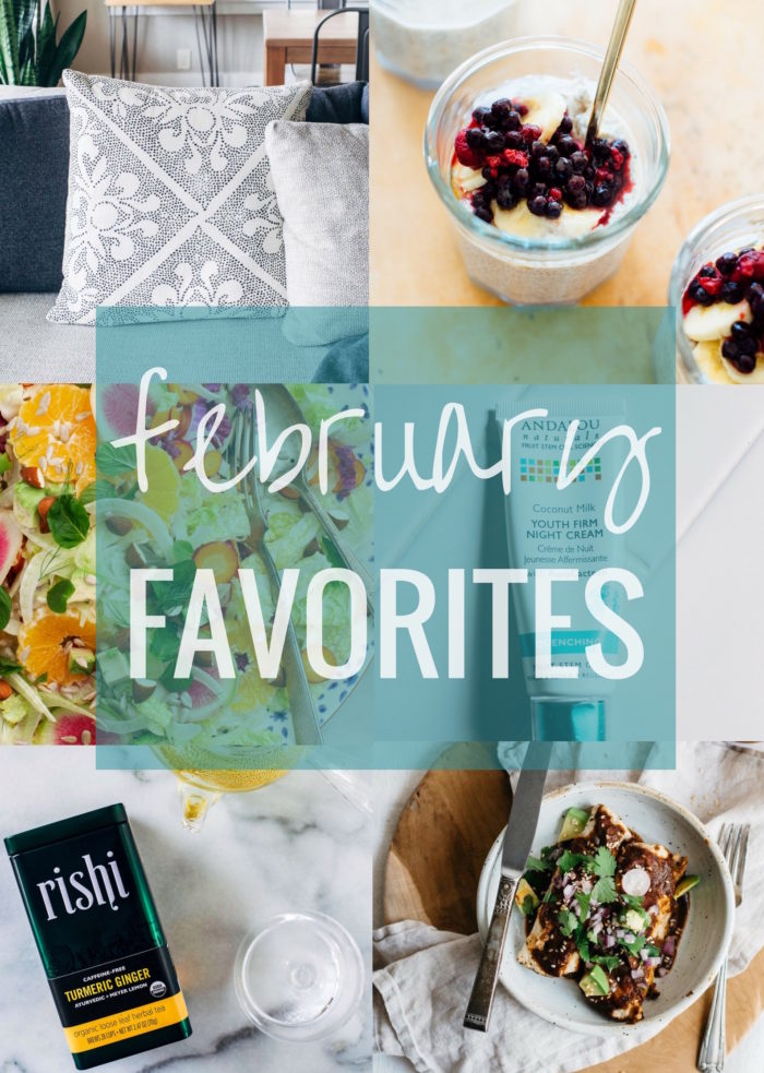 February Favorites | Making Thyme for Health