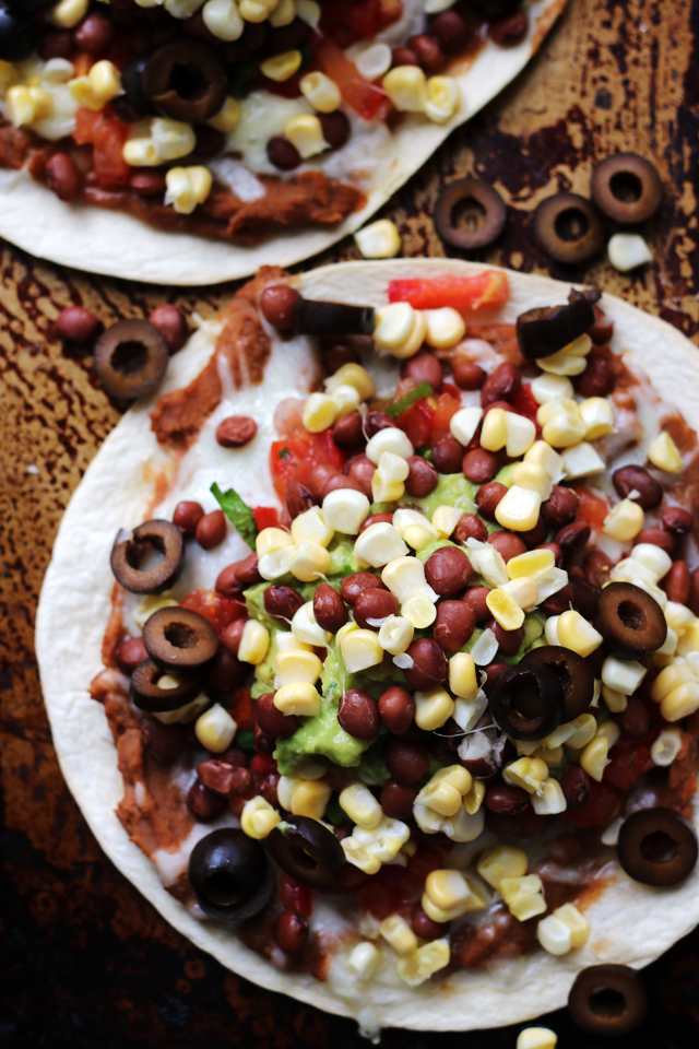 Mexican Seven Layer Dip Tostadasfrom Eats Well With Others