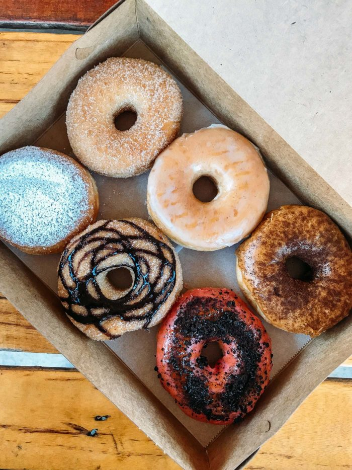 All the vegan doughnuts...