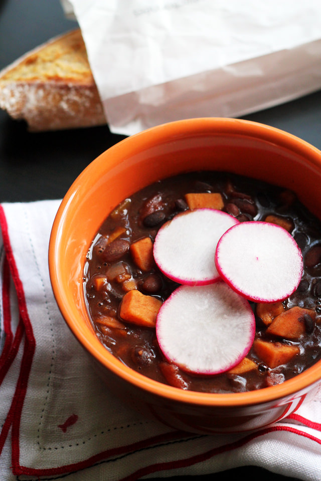 Vegetarian Sweet Potato Chili from Eats Well With Others